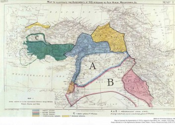 Sykes Picot map flickr Paolo Porsia