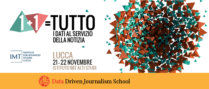 Data Driven Journalism School - Lucca  Novembre 2014 - @riottait